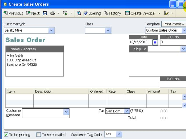 how to find total sales in quickbooks